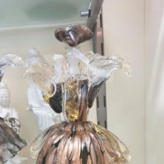 Antigüedades: DAMA CRISTAL MURANO VENECIANA. Lote 282952058