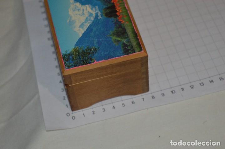 Antigüedades: Antigua y preciosa caja de música / Marca MAPSA Suisse - Funcionando perfectamente - Original ¡Mira! - Foto 3 - 282954543