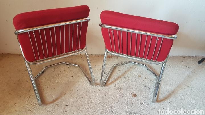 Antigüedades: Pareja de sillas de diseño - Foto 3 - 283018963