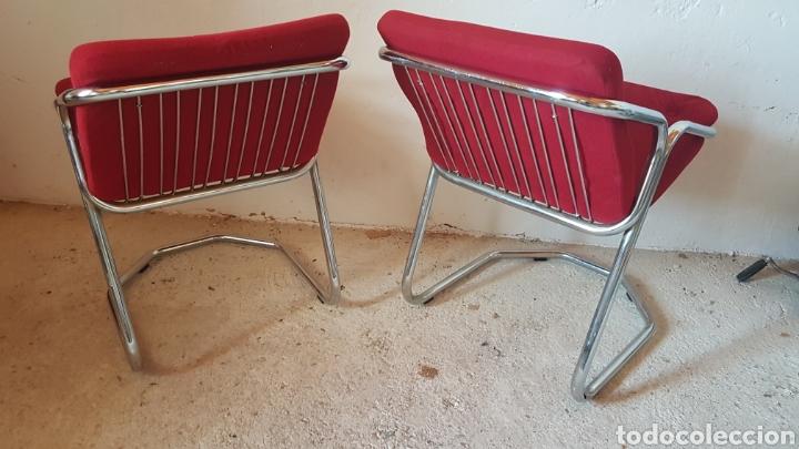Antigüedades: Pareja de sillas de diseño - Foto 3 - 283019588