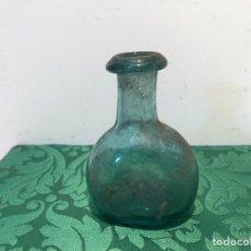 Antigüedades: FIGUETA ANTIGUA VIDRIO VERDE SOPLADO CATALAN SIGLO XIX .. Lote 283020338