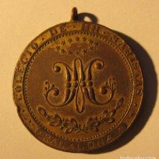 Antigüedades: ANTIGUA MEDALLA LEGION DE HONOR. LABOREMUS. COLEGIO DE HH. MARISTAS. BADALONA. DIÁM. ,5 CM. Lote 283086293