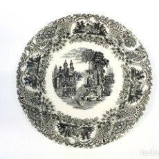 Antiquités: JUEGO DE 12 PLATOS HONDOS - LA CARTUJA PICKMAN - SEVILLA. Lote 283162638