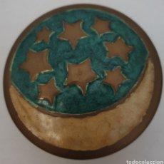 Antigüedades: JOYERITO EN METAL ESMALTADO. Lote 283183753