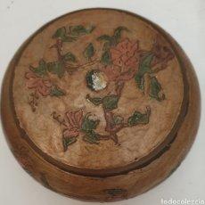 Antigüedades: JOYERO EN METAL ESMALTADO. Lote 283185128