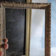 Antigüedades: ANTIGUO MARCO DE SIGLO 19 PAN DE ORO EMPEZANDO IDEAL PARA PINTURA ANTIGUA. Lote 283211863