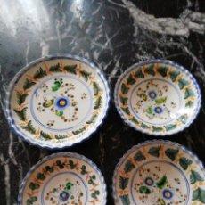 Antigüedades: LOTE PLATOS COLGAR TALAVERA SASO. Lote 283357188
