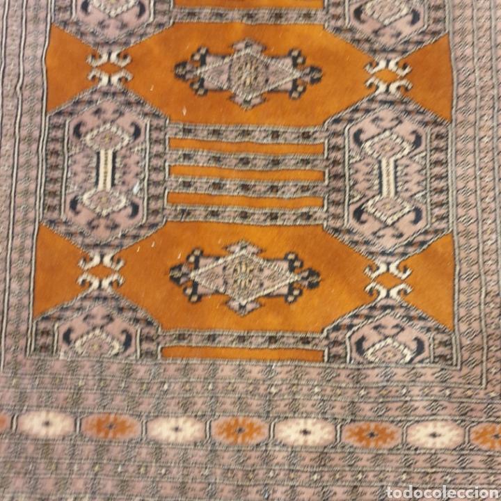 Antigüedades: Alfombra pura lana 150x120 - Foto 2 - 283696493