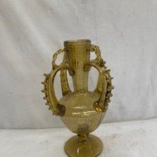Oggetti Antichi: PRECIOSO JARRON DE CRISTAL MALLORQUIN!. Lote 284035653