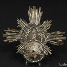 Oggetti Antichi: ANTIGUA CORONA DE PLATA PARA VIRGEN O IMAGEN RELIGIOSA SIGLO XVIII. Lote 284125368