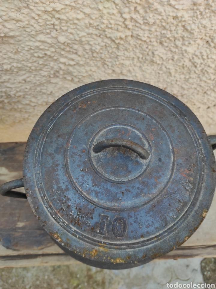 Antigüedades: Antigua Olla - Puchero de Hierro Colado - Foto 7 - 284162598
