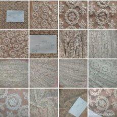 Antiguidades: MANTILLA ENCAJE TUL BORDADO IDEAL TOCA GLORIA TOCADO PARA PEQUEÑA VIRGEN DE VESTIR 68,5 X 36 CM. Lote 284220063