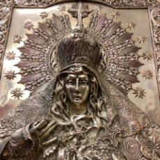 Oggetti Antichi: ALTO RELIEVE - VIRGEN DE LA MACARENA - NUESTRA SEÑORA DE LA ESPERANZA - SIGLO XIX - 69 X 59 CM. Lote 284239728