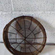 Antigüedades: CRIBA O PENEIRA PARA COLAR GRANO ANTIGUA. Lote 284315398