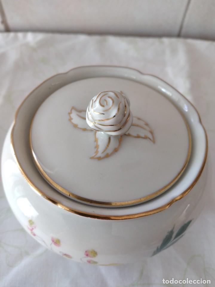 Antigüedades: Bonito azucarero de porclana seltmann weidengermany u.s.z - Foto 5 - 284359298