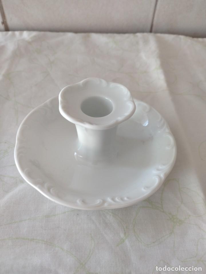 BONITA PALMATORIA DE PORCELANA BLANCA CLASSIC ROSENTHAL GERMANY (Antigüedades - Porcelana y Cerámica - Alemana - Meissen)