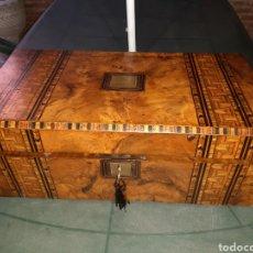 Antiquités: ESCRITORIO DE BARCO,INGLES SIGLO XIX, MUY BUEN ESTADO... Lote 284423388