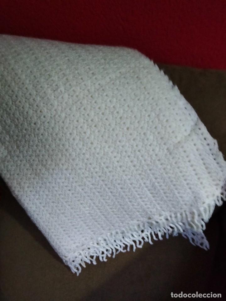 Antigüedades: manta para bebes - Foto 6 - 284463998