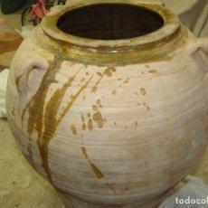 Antigüedades: TINAJA ACEITE,BARRO CATALAN VIDRIADO.. Lote 284465873