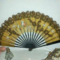 Antigüedades: ABANICO 1880-1890S. Lote 284472243