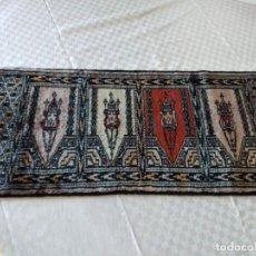 Antigüedades: PEQUEÑA ALFOMBRA FELPUDO DE LANA ,PERSA HECHA A MANO.. Lote 284550443