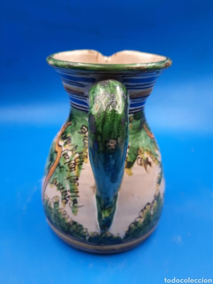 Antigüedades: Antigua jarra Santa fe puente del arzobispo siglo XIX - Foto 5 - 284559193