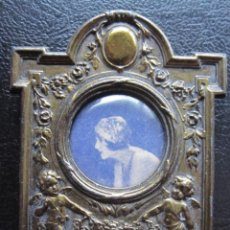 Antiquités: ANTIGUO PORTAFOTOS FRANCÉS AÑOS 20 DE SOBREMESA. Lote 284624118