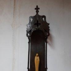 Antigüedades: ESPECTACULAR CAPILLA HORNACINA CON VIRGEN.. Lote 284701788