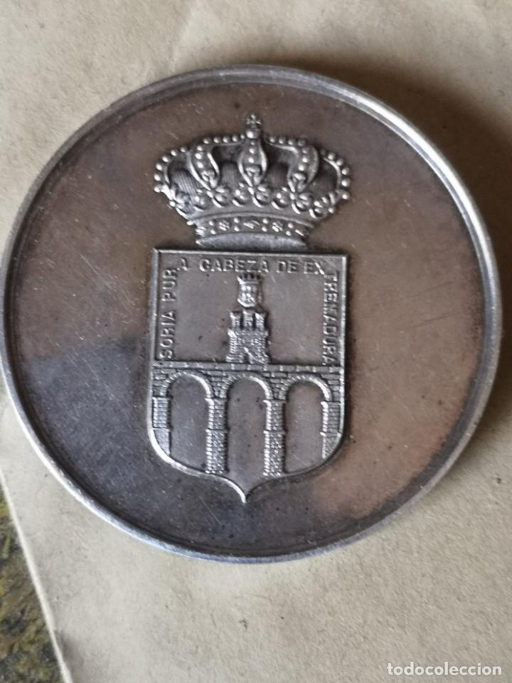 Antigüedades: Medalla plata premio Bernardo Robles - Foto 2 - 284660478