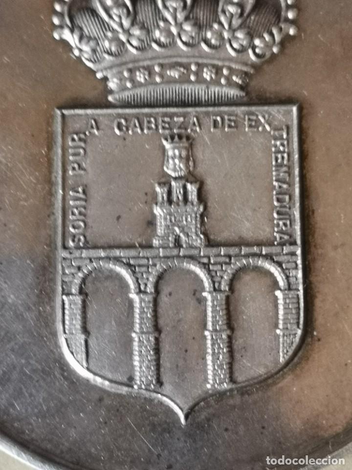 Antigüedades: Medalla plata premio Bernardo Robles - Foto 3 - 284660478
