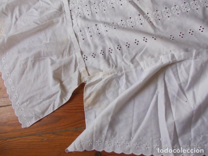 Antigüedades: Colcha Sobrecama o cubrecama pequeña de verano - Foto 5 - 284742963
