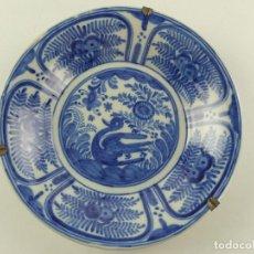 Antiquités: EXCELENTE PLATO DE PARED CERÁMICA RUIZ DE LUNA DE TALAVERA MARAVILLOSA PIEZA DE DECORACIÓN. Lote 284774673