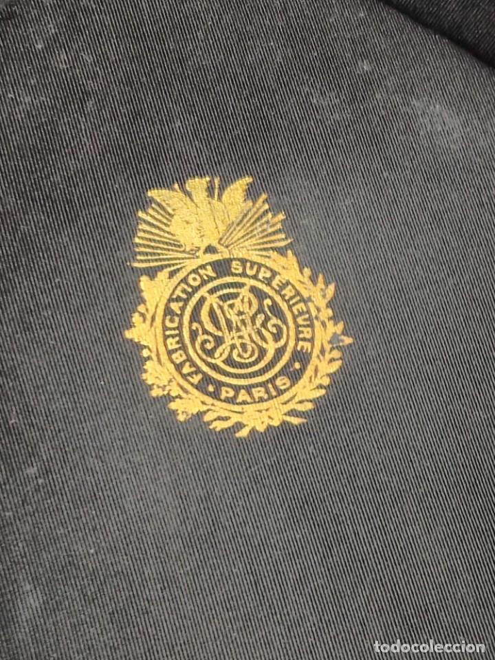 Antigüedades: Sombrero de Copa Frances con caja original, Paris S. XIX - XX - Foto 3 - 284795163
