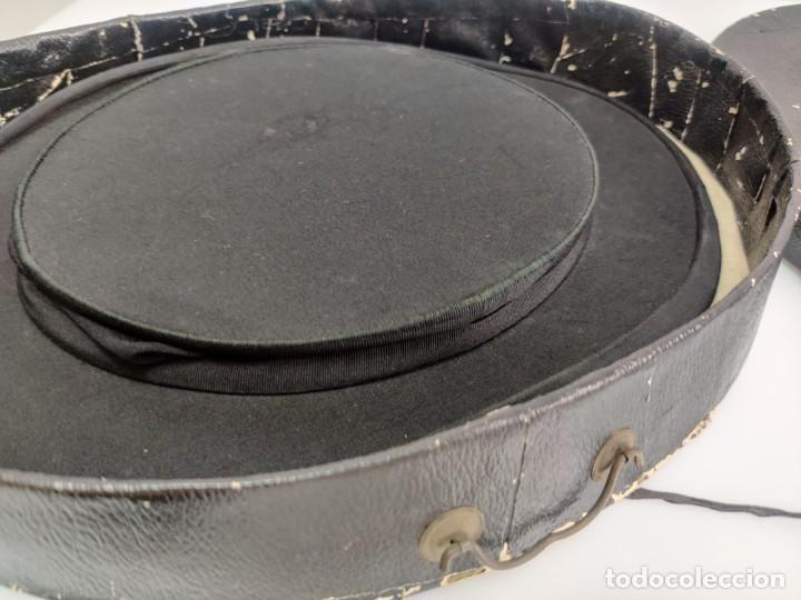 Antigüedades: Sombrero de Copa Frances con caja original, Paris S. XIX - XX - Foto 5 - 284795163