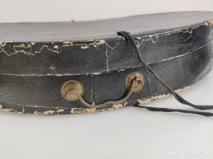 Antigüedades: Sombrero de Copa Frances con caja original, Paris S. XIX - XX - Foto 10 - 284795163