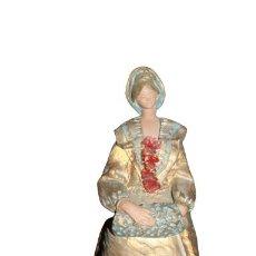 Oggetti Antichi: BONITA FIGURA FIRMADA OLIVER. Lote 285039223