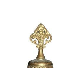 Oggetti Antichi: ANTIGUA CAMPANA DE BRONCE AZTECA SIGLOXX. Lote 285039263