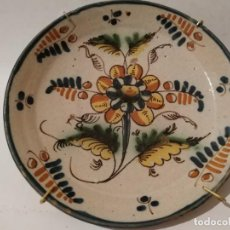Antigüedades: PLATO PUENTE ARZOBISPO (TOLEDO) S. XIX. Lote 285077408