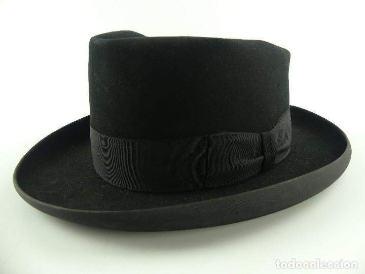 PRECIOSO ANTIGUO SOMBRERO GORRO HOMBRE BOTTA LUXE FEIN KALLER (Antigüedades - Moda - Sombreros Antiguos)