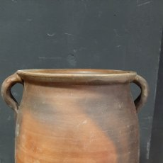 Antiquités: CERÁMICA POPULAR CATALÁN ORZA DOS AZAS. Lote 285104268
