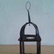 Oggetti Antichi: FAROL FAROLILLO QUINQUE CANDIL DE VELA N2. Lote 285114838