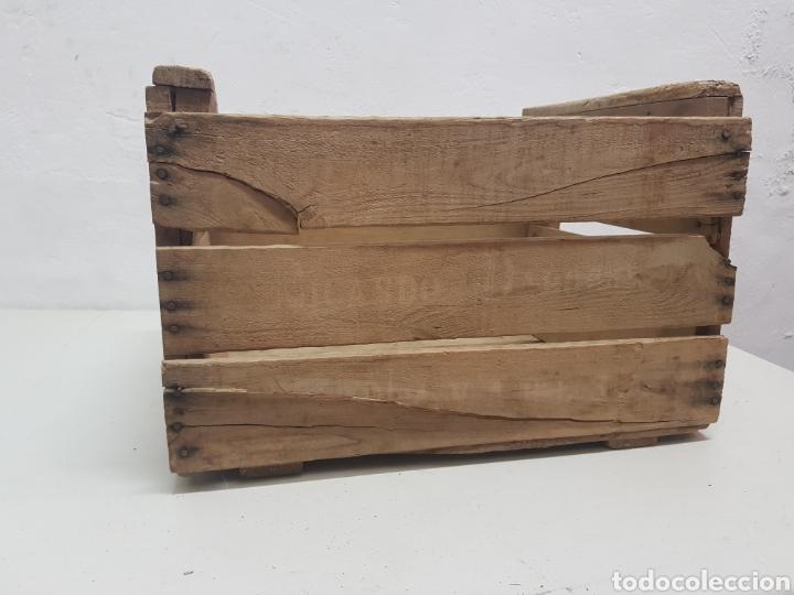 Antigüedades: Caja de fruta Ricardo Darocas, Navarres ,años 1950 - Foto 2 - 285130823