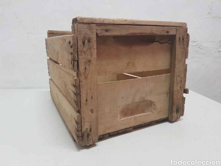 Antigüedades: Caja de fruta Ricardo Darocas, Navarres ,años 1950 - Foto 3 - 285130823