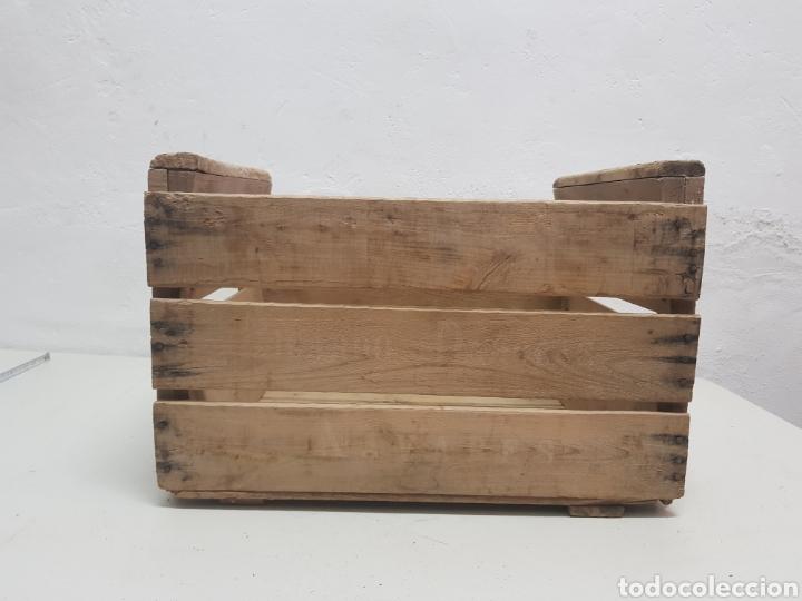 Antigüedades: Caja de fruta Ricardo Darocas, Navarres ,años 1950 - Foto 4 - 285130823