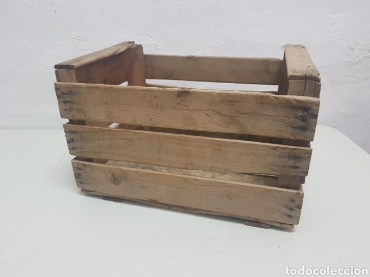 Antigüedades: Caja de frutas Ricardo Darocas ,Navarres,años 1950 - Foto 3 - 285131068