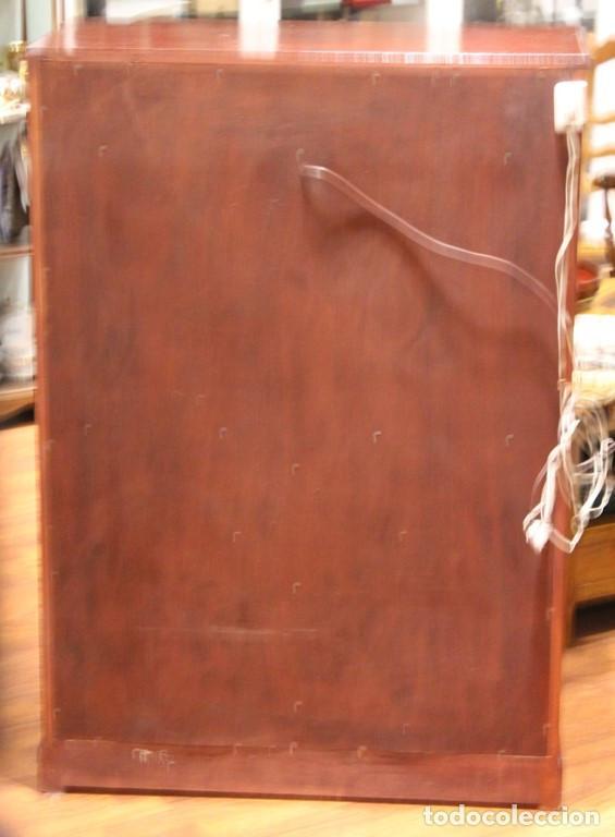 Antigüedades: Aparador, mueble bar, 82 x 116 x 39, roble, barnizado color caoba, bien conservado - Foto 5 - 285169633