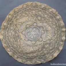 Oggetti Antichi: ANTIGUO TAPETE DE ENCAJE DE NORMANDÍA S.XIX. Lote 285192233