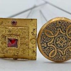 Antiquités: COLECCION DE 4 HORQUILLAS MODERNISTAS. VEAN FOTOS.. Lote 285264283