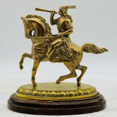 Antiguidades: HERMES A CABALLO. Lote 285359988