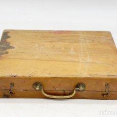 Antiguidades: CAJA DE PINTURAS ANTIGUAS. Lote 285410573